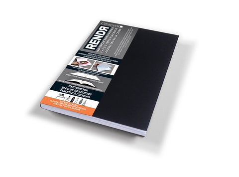 Crescent Rendr Softcover Sketchbook 9 x 14cm-Crescent-graphicsdirect.co.uk