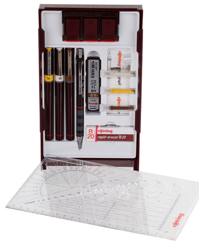 Rotring Rapidograph Set