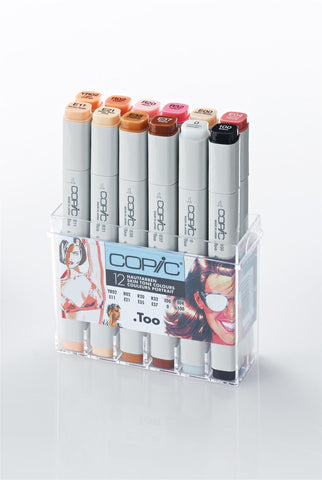 Copic Marker Skin Tone 12 Set