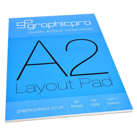 A2 Layout Sketching Paper Pads