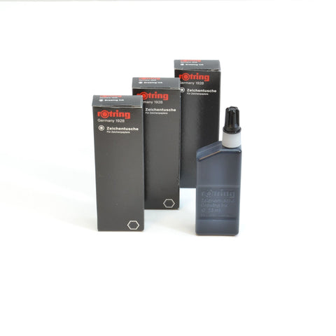 S0194660 Rotring Black 23ml Drawing Ink