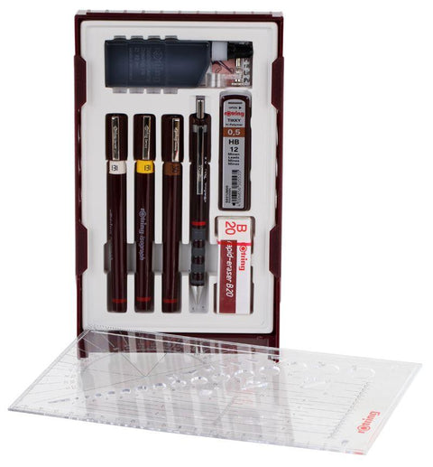 Rotring Isograph College Set 3 pen set S0699380