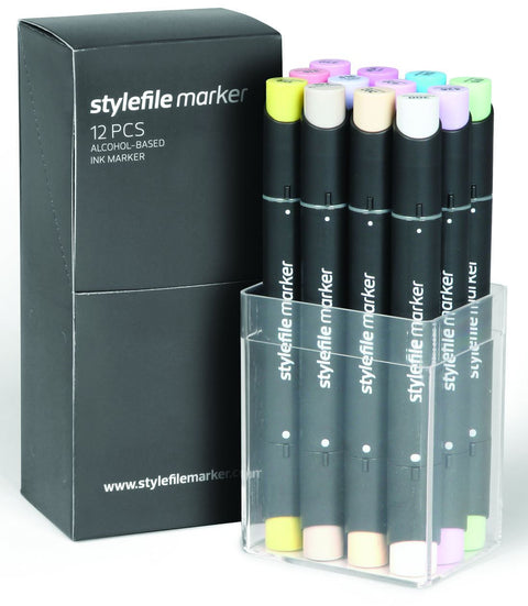 Stylefile Graphic Twin-Tipped marker pastel colours