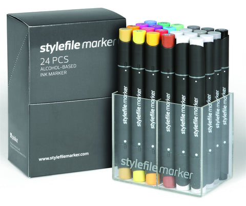 24 Set A Stylefile Graphic Markers