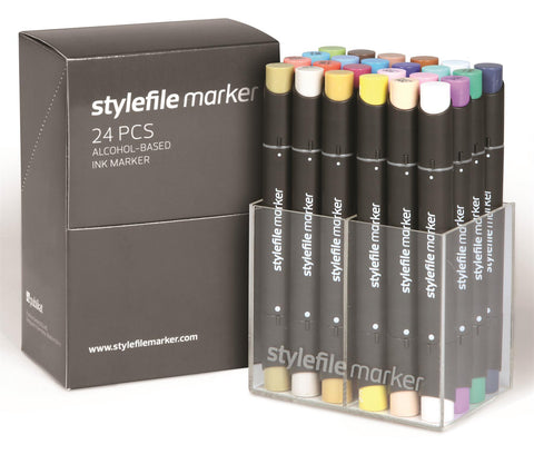 Stylefile Graphic Marker 24 Set A 60342402