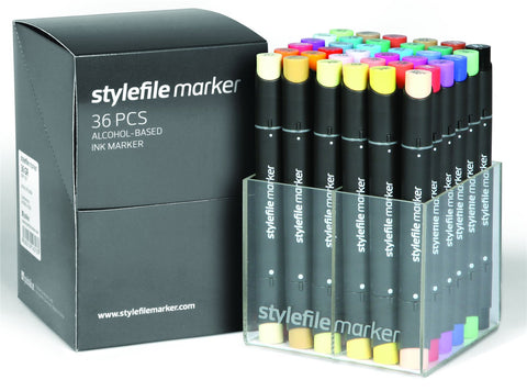 36 Set A Stylefile Graphic Markers