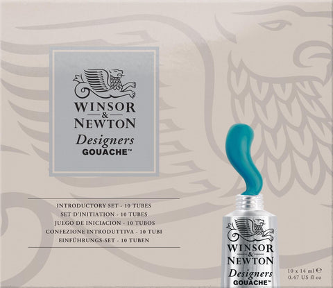 Winsor & Newton Designer Gouache Introductory Set-Winsor & Newton-graphicsdirect.co.uk
