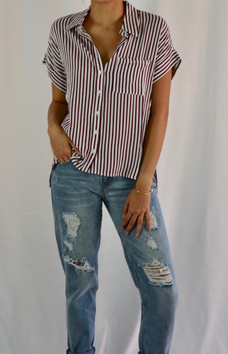 Stella Button Down Top