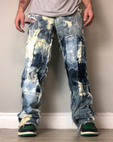 """BLEACHED & INVERTED"" DENIMS"