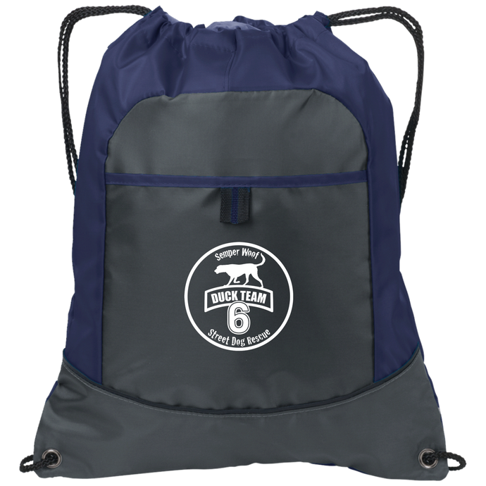 DT6 Embroidered Logo Pocket Cinch Pack