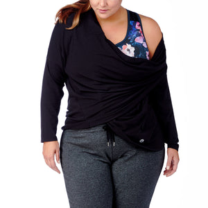 Magnolia Twist Top - All Yoga Pants