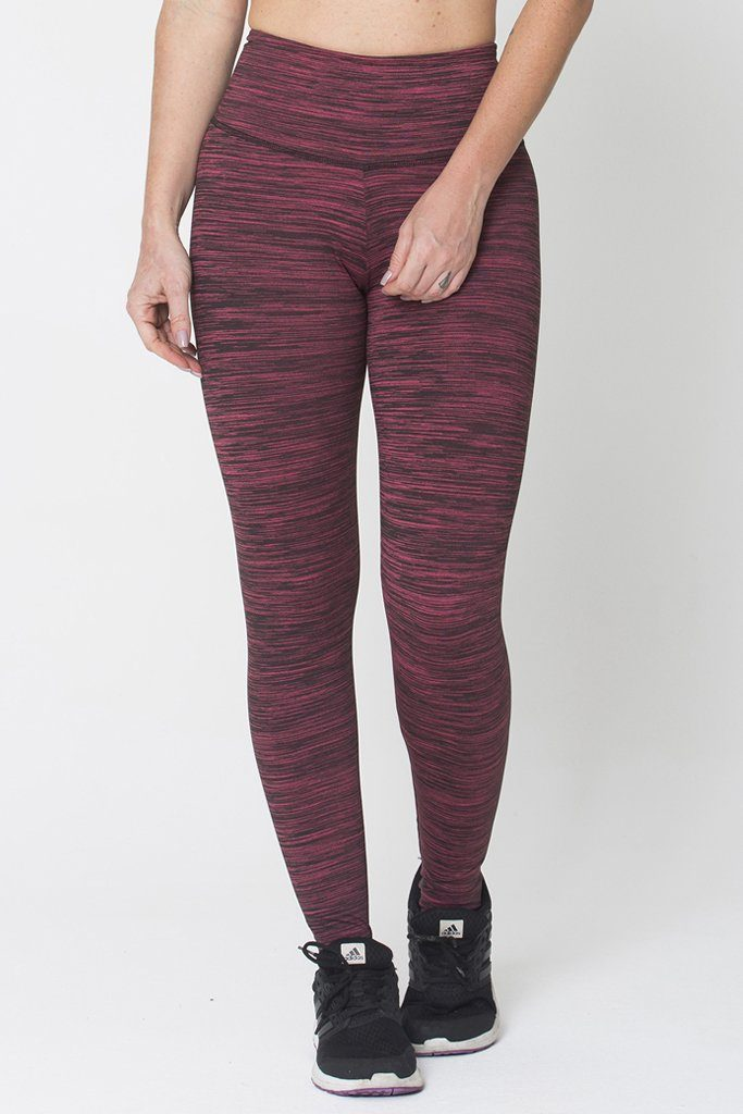 Red Run on Legging - All Yoga Pants