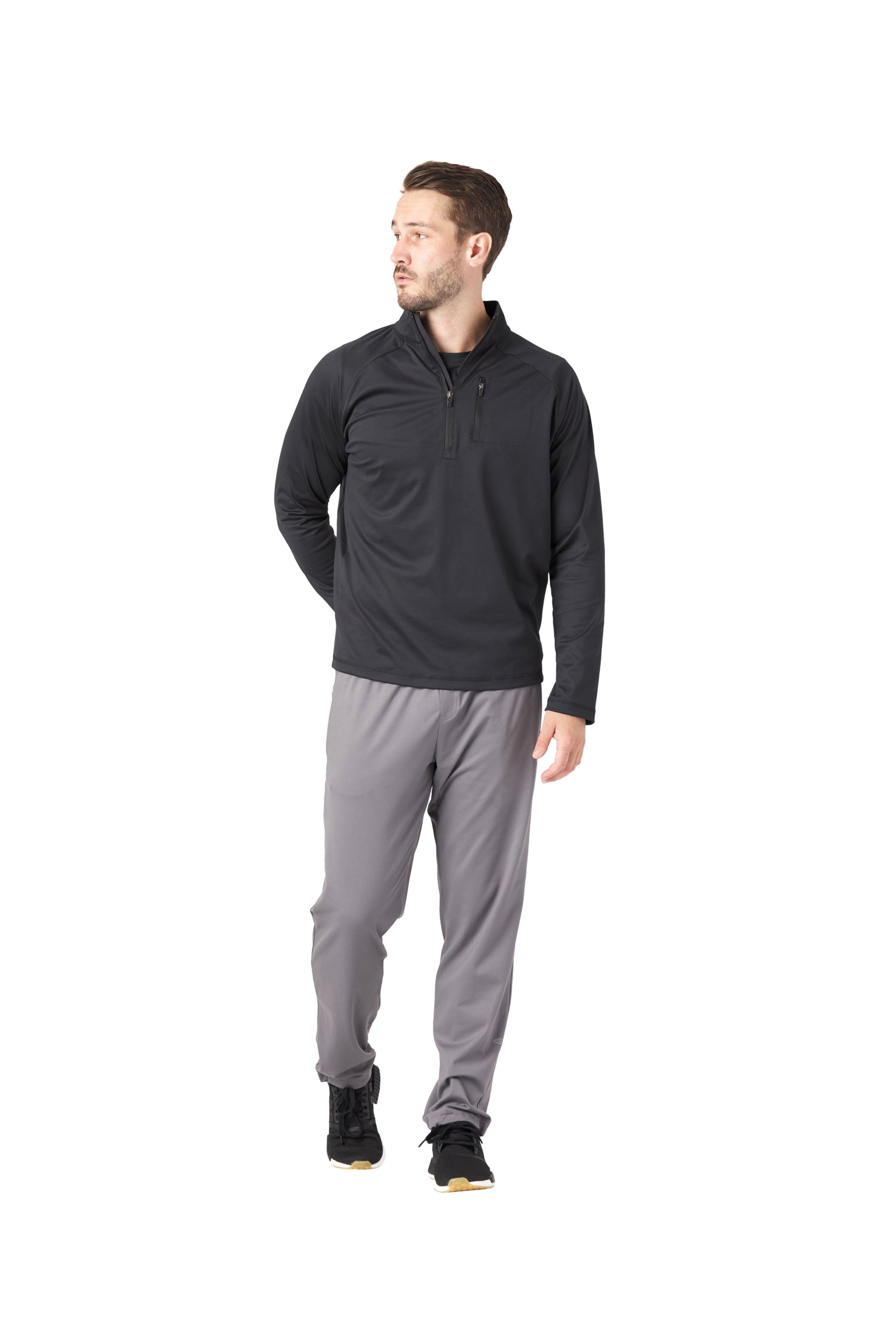 Men's Denali 1/4 Zip Black