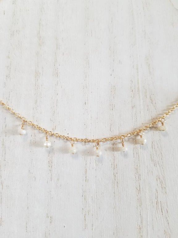 Silverite Gypsy Charm Choker Necklace