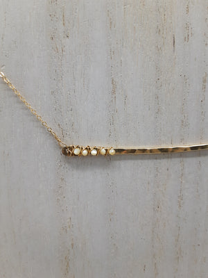 Mother of Pearl Expanse Necklace