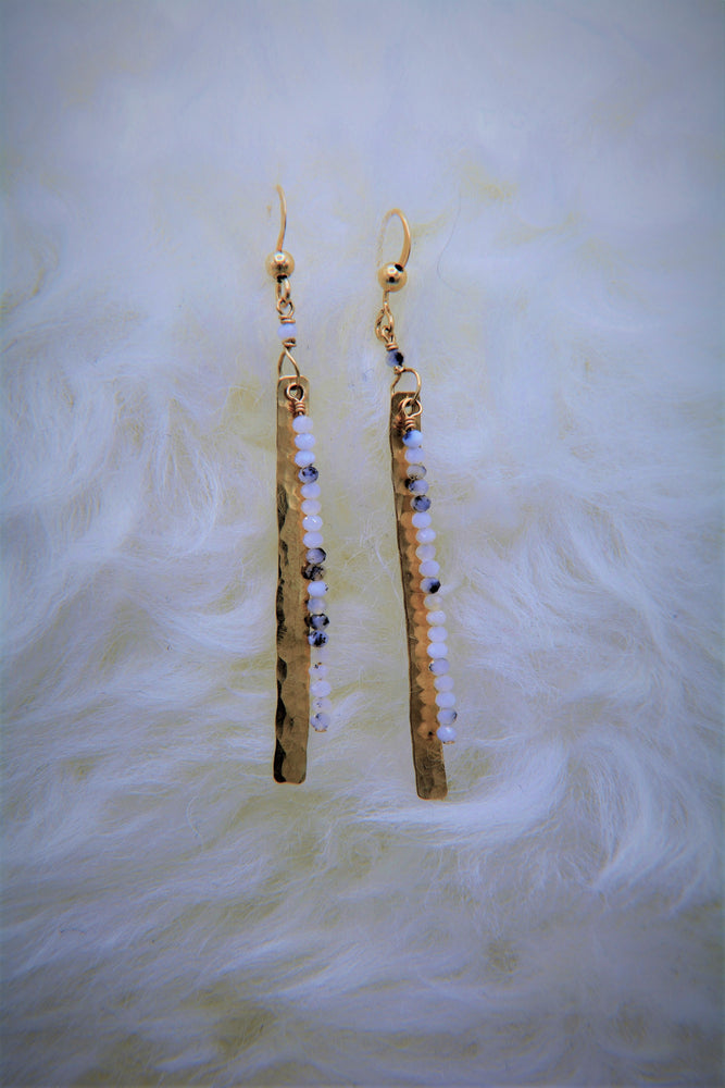 White Opal Luisa Earrings