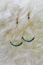 Chrysocolla Soley Earrings