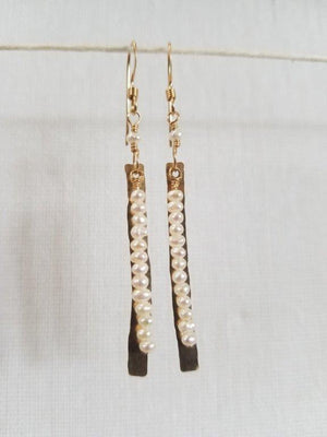 Seed Pearl Luisa Earrings