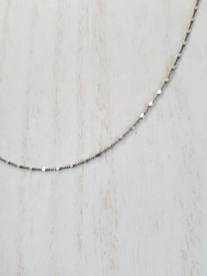 Diamond Cut Satellite Choker Necklace