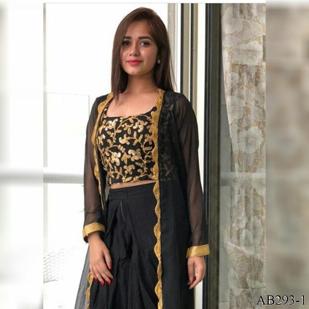 Gorgeous Jannat Zubair's Top N Plazzo