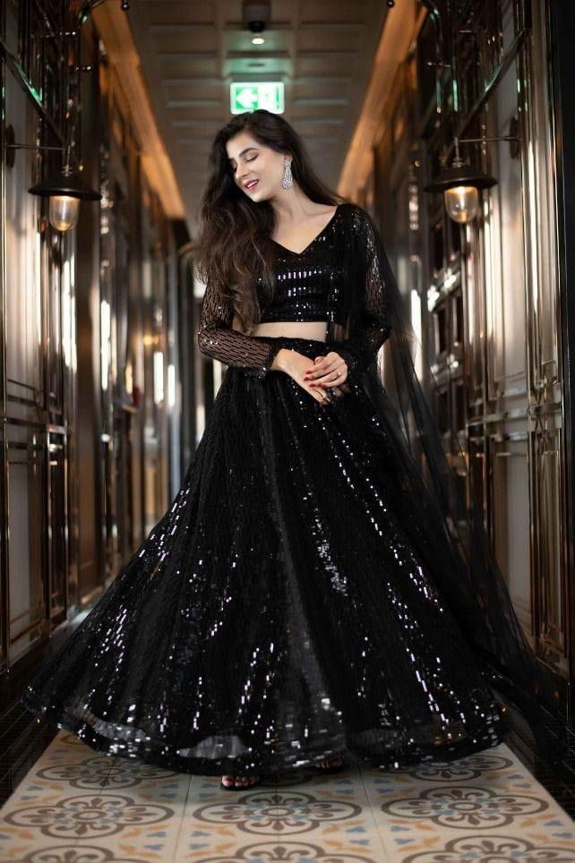 Black Sequence Lahenga