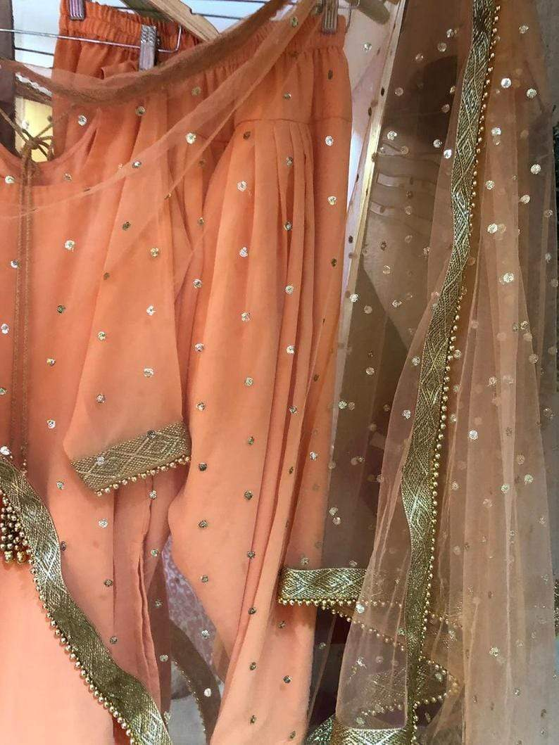 SE Designer Outfit Indian Punjabi Salwar Suit Lehenga Designer Patiala Suit Indian Salwar Kameez Party Wear Indian Dress