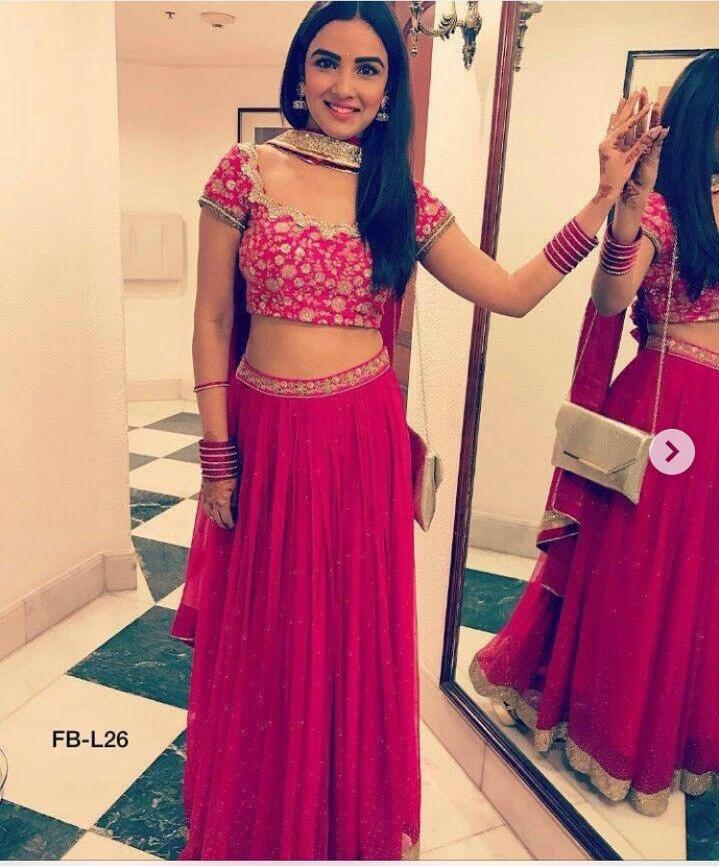 SE Hot Selling Red Lehenga Choli