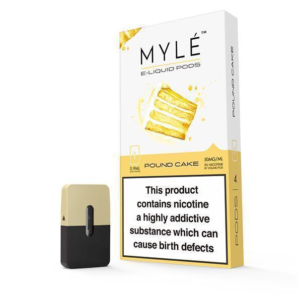 MYLÉ Pound Cake Pods-Pod-PodVapes™ New Zealand