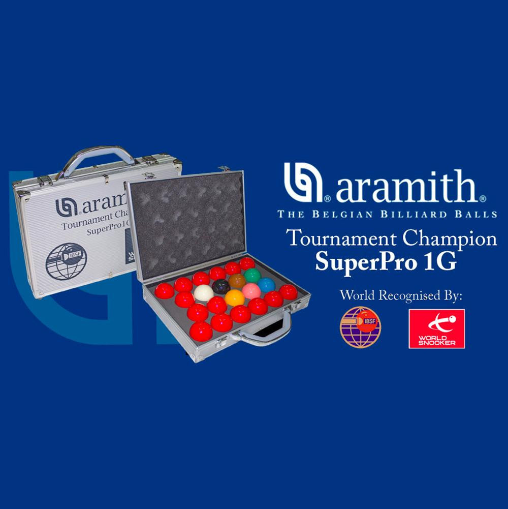 Aramith Pro 1G Tournament Champion Tournament Snooker Ball Set