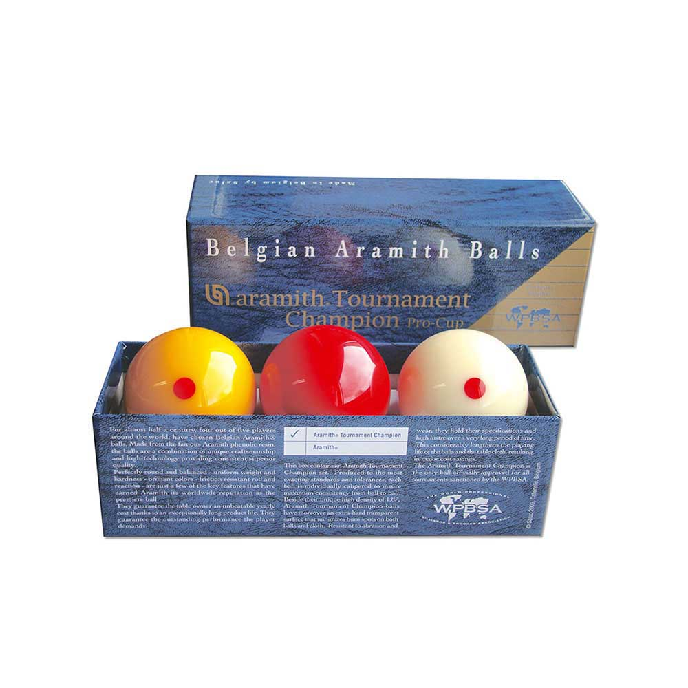 Aramith Tournament Champion Pro Cup Billiards Ball Set