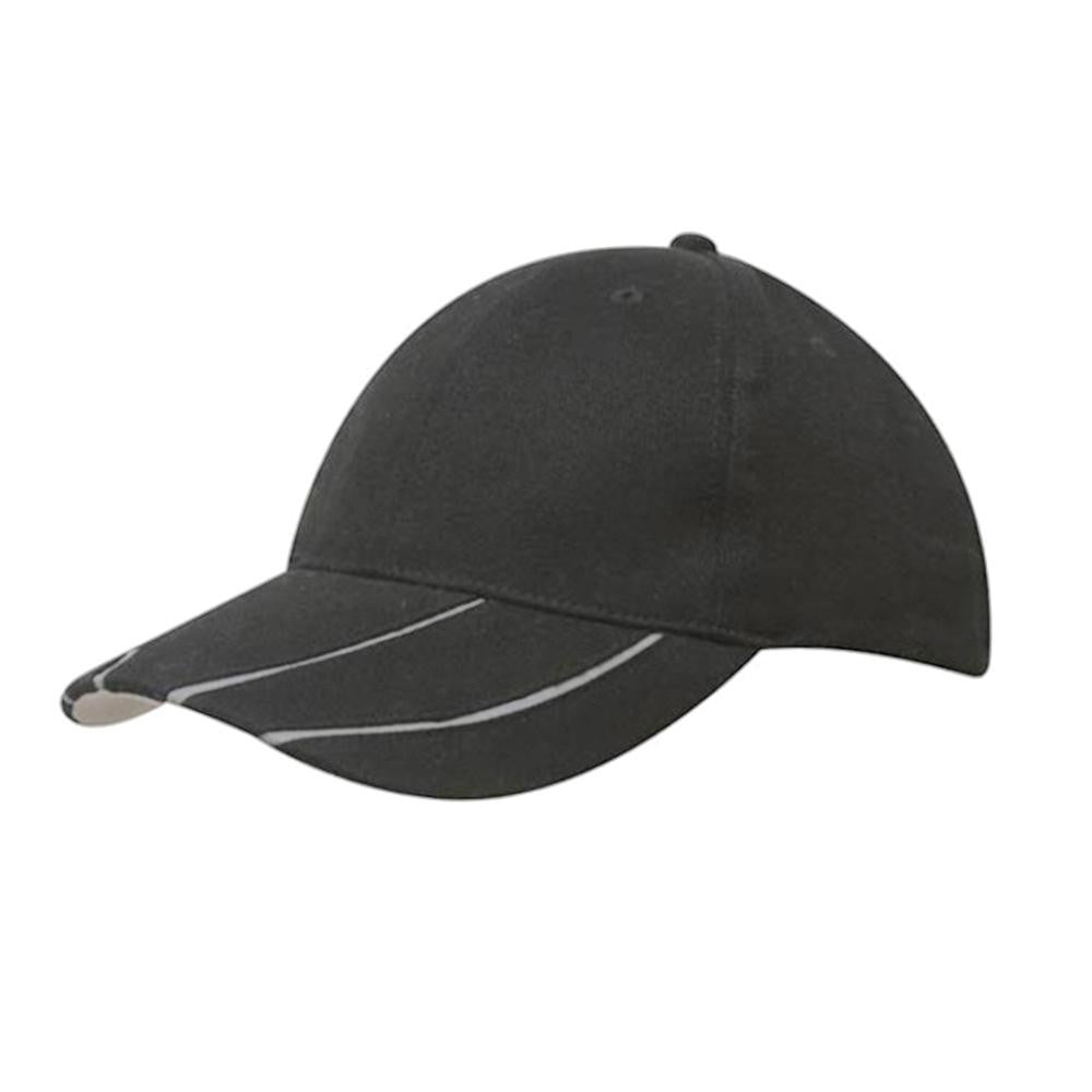 Hi-Vis Sports Two-Tone Peak Cap - SPORTS DEAL