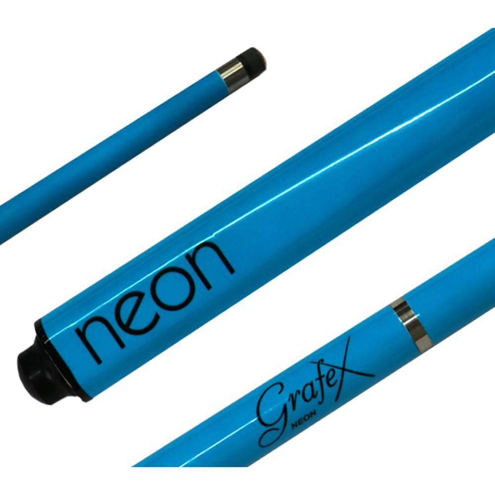 Grafex Neon Fluorescent Graphite 8 Ball Pool Cue - SPORTS DEAL