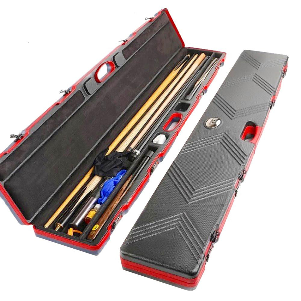 OMIN Billiard Snooker ABS Cue Case (Hold 2 Cues)