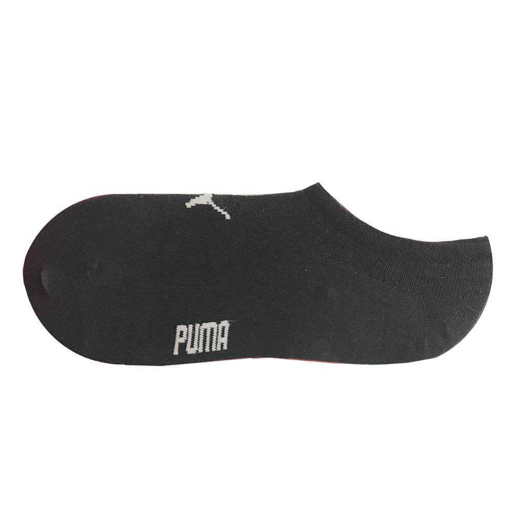 Puma Footies No Show Socks Black 2-Pack