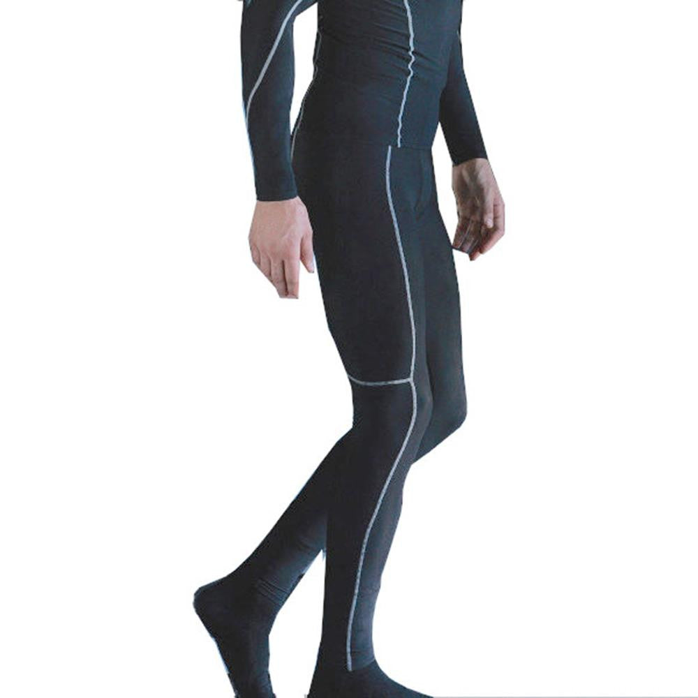 Mens Compression Base Layer Tights (Full Length) - SPORTS DEAL
