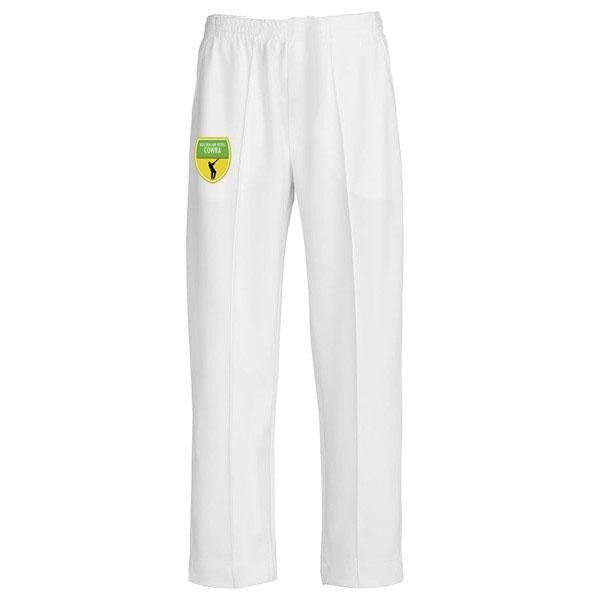 Cricket Pants with Custom Club Logo
