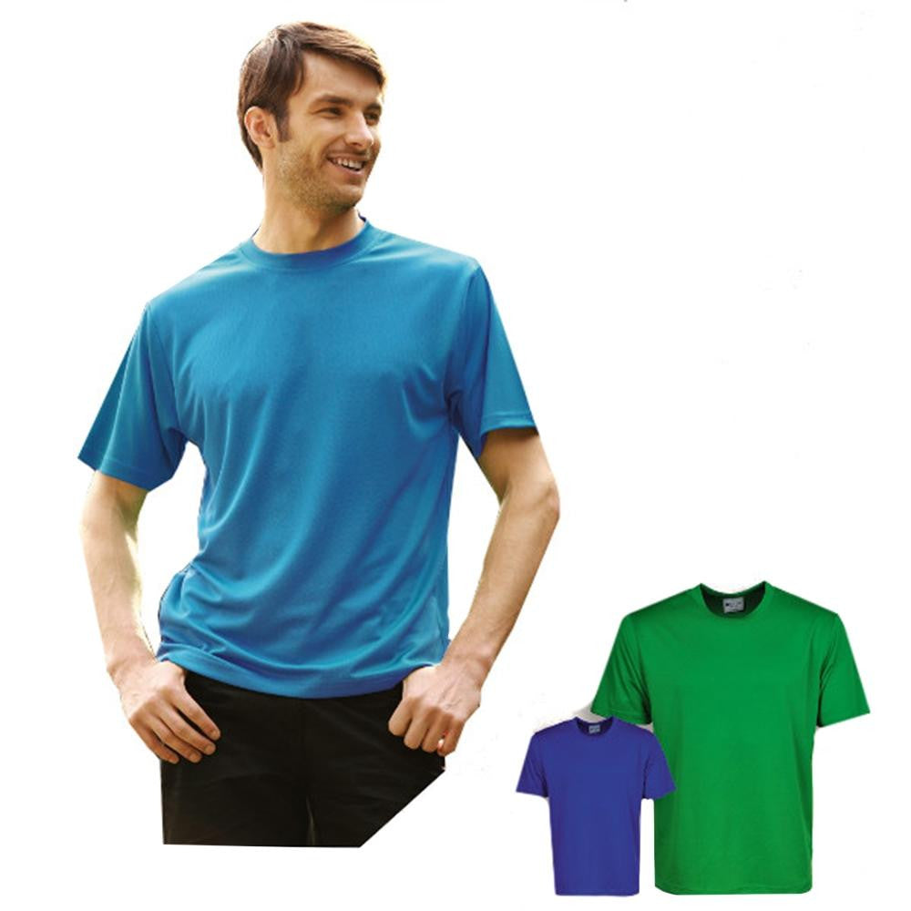 Sports Plain Micromesh Tee Shirt - SPORTS DEAL