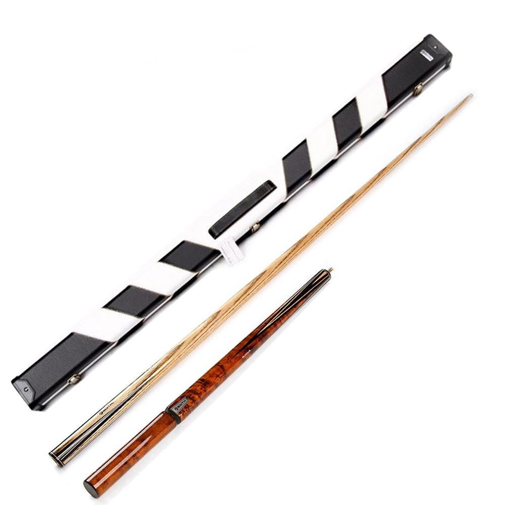 Edith EZ06 Professional 3/4 Ash Shaft Ebony Snooker Cue - SPORTS DEAL
