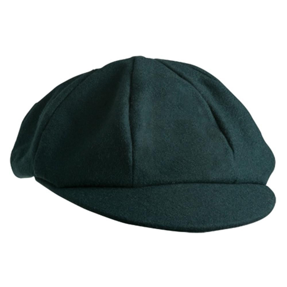 Hand Crafted Baggy 8 Panel Plain Cap