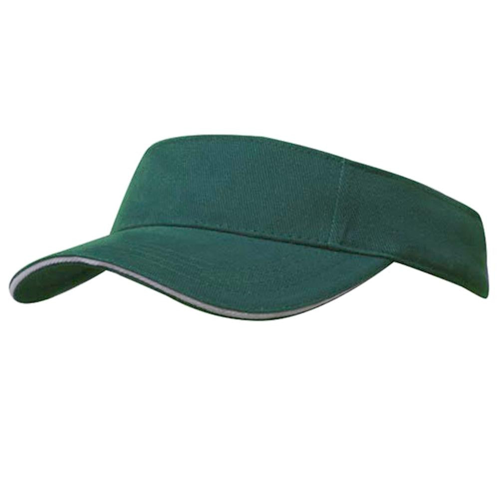 Athletic Sports Brushed Cotton Visor - SPORTS DEAL