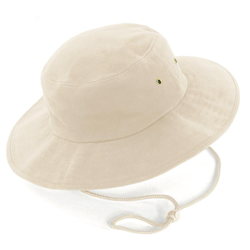 Heavy brushed cotton Everyday Sports UPF 50+ Sun Hat