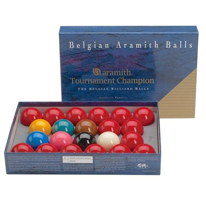 "Aramith Tournament Champion Snooker 2 1/16"" Ball Set - SPORTS DEAL"