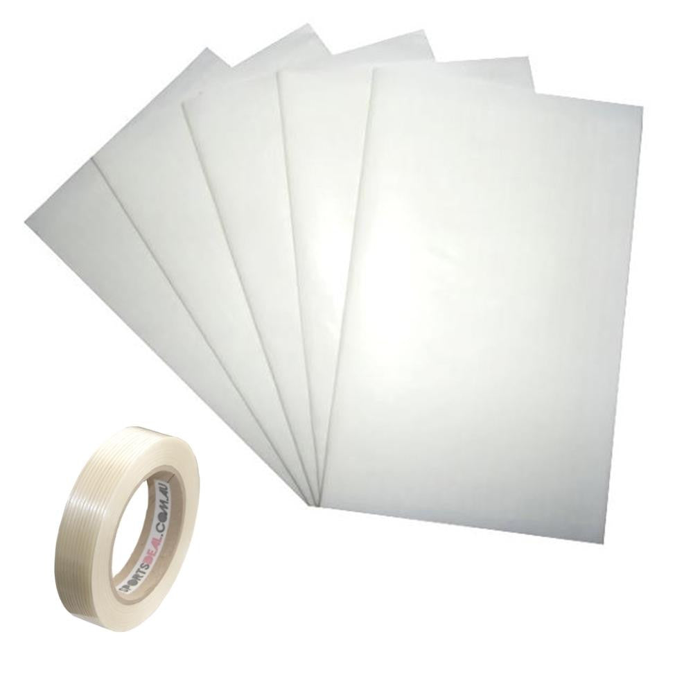 Anti Scuff Extratec Sheet Set 5 & Bat Repair Fiberglass Tape - SPORTS DEAL