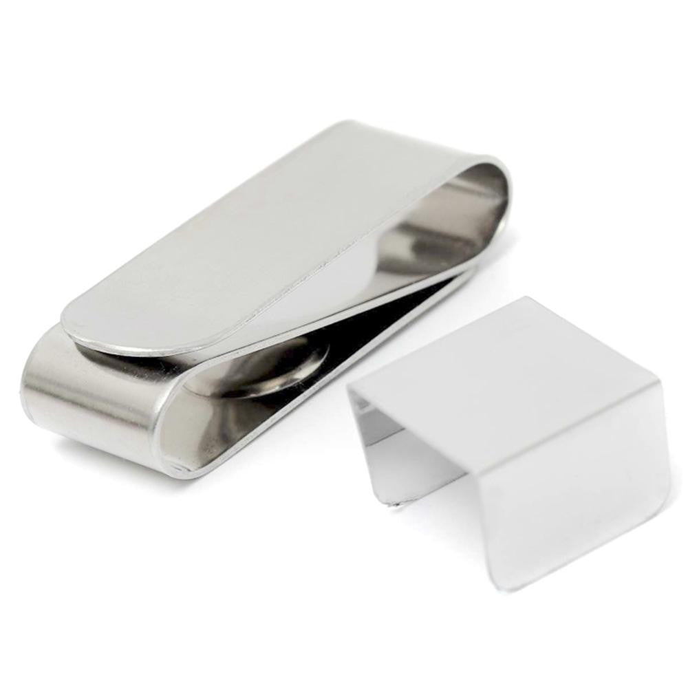 Magnetic Stainless Steel Snooker/Billiards Chalk Holder Clip