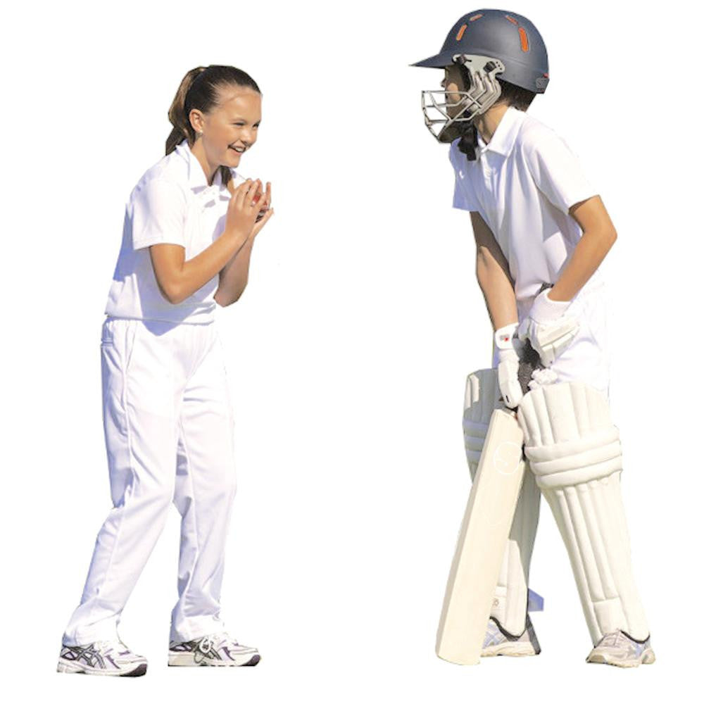 Kids Cricket White Polo Shirt - SPORTS DEAL