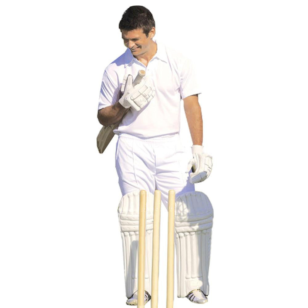 Cricket White Polo Shirt - SPORTS DEAL