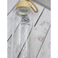 Crystal water bottles/Bamboo