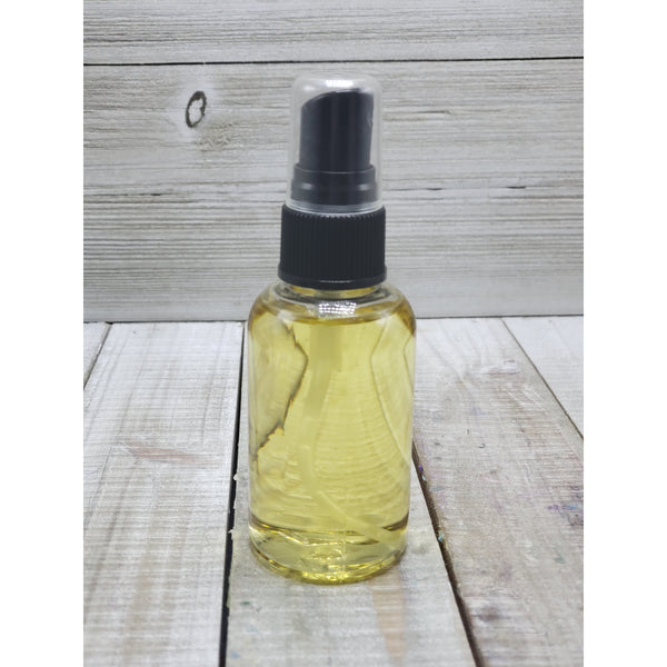 Body oils spray