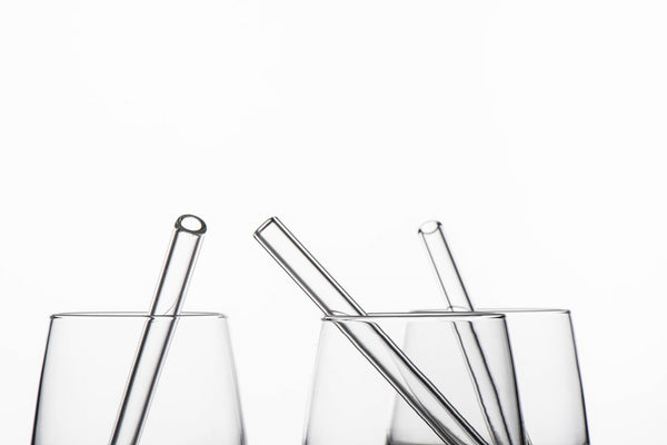 earth straws with brush