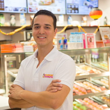 Yassin Engels, Dunkin Donuts Operations Manager  Rhein-Main